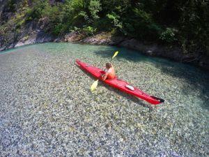 Kayaking at Shala River