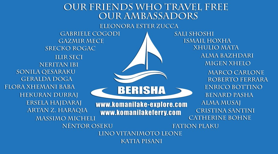 Komani Lake Ferry & Friends / Ambasadors