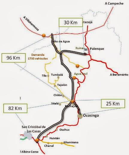MAPA -autopista-sclc-palenque-2009