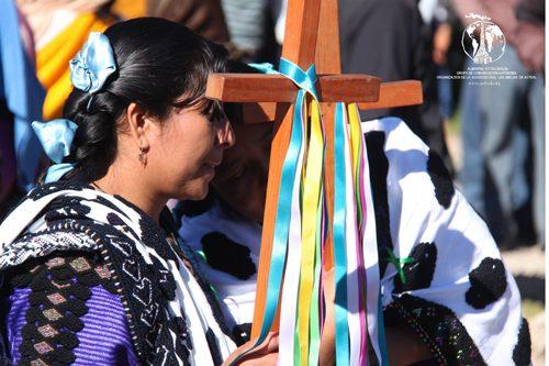 25 noviembre, peregrinación, san cristóbal de las casas