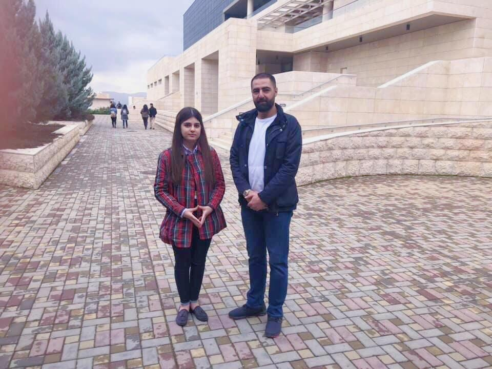 President of the Student Council Visits AUIS