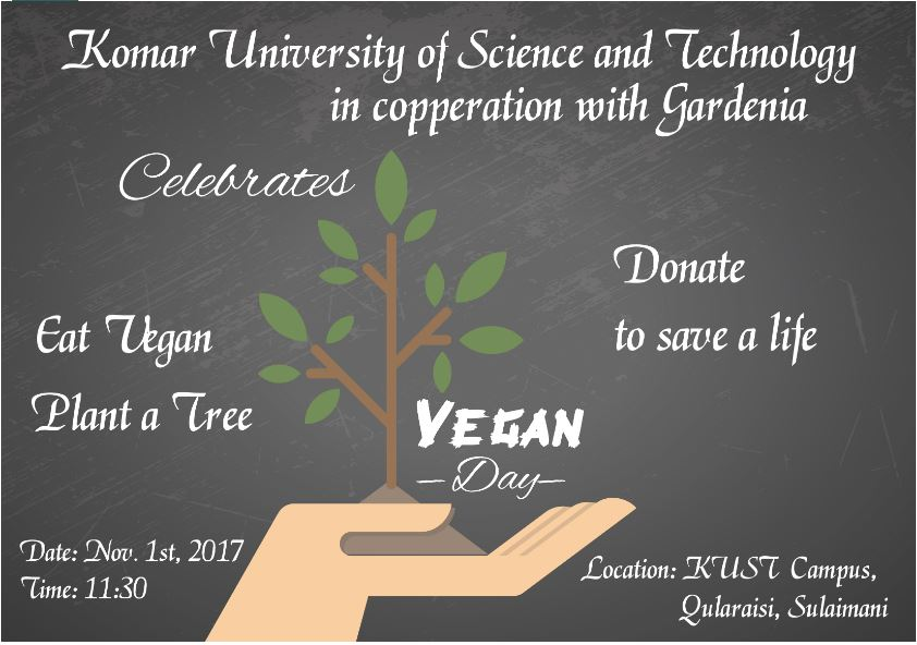 KUST in cooperation with Gardenia celebrates Word Vegan Day