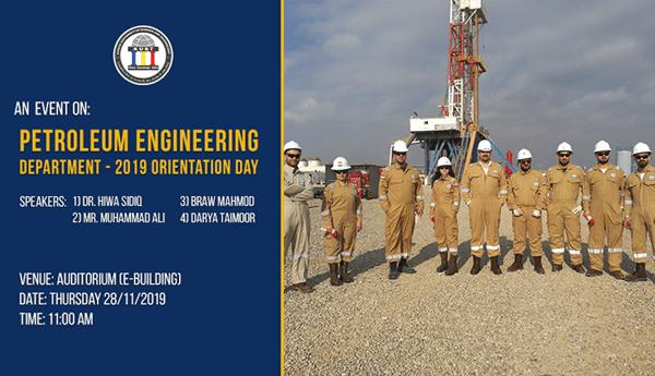 Petroleum-Engineering-Orientation-2019-Event