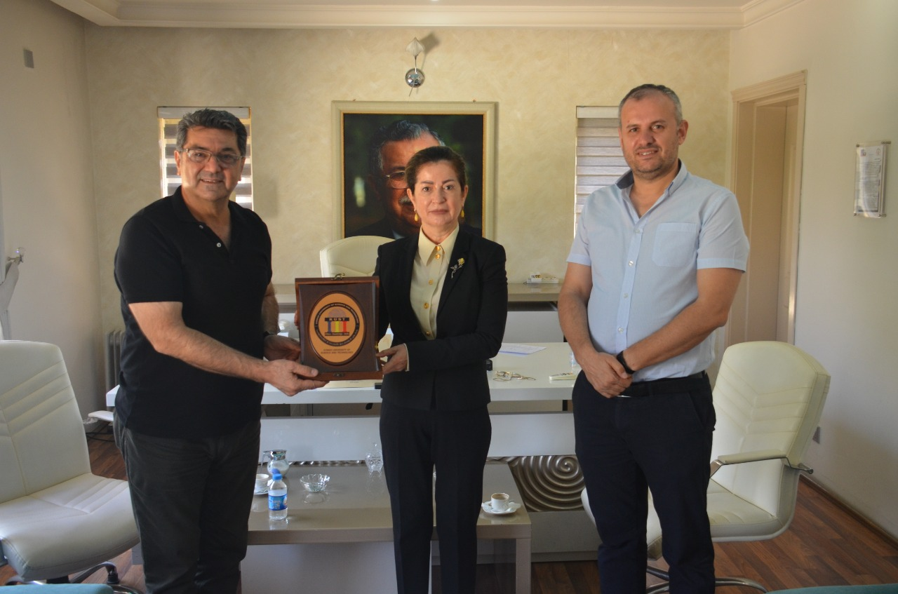 A delegate from KUSTvisited Wza Petroleum in Sulaimani