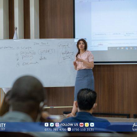 Komar University's final steps towards ISO Certification