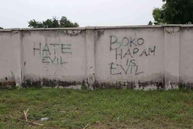 anti boko haram graffiti
