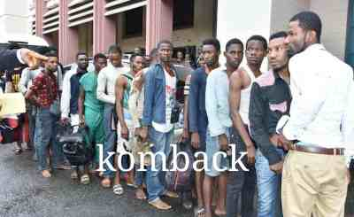 40 SUSPECTED GAYS ARRAIGNED IN LAGOS [PHOTOS]