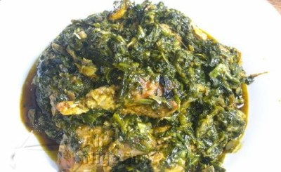 THE NIGERIAN VEGETABLE SOUP EDIKANG IKONG