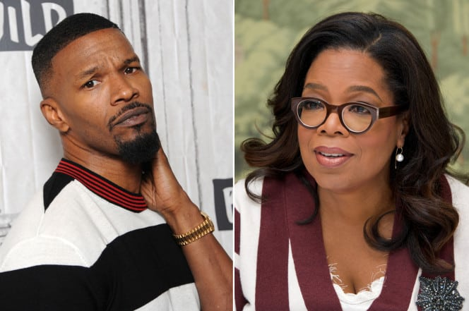 Oprah Staged An Intervention For Jamie Foxx