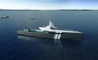 Rolls-Royce Has Designed A Completely Autonomous Naval Ship