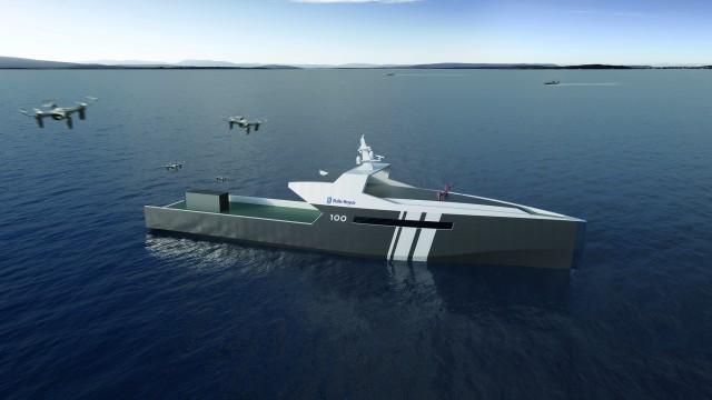 Rolls-Royce Has Designed A Completely Autonomous Naval Ship