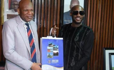 2face Idibia Bags Honorary Fellow Award From OAU