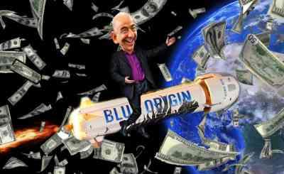 Bezos Dreams Of Our Space Future