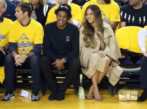 Beyoncé's NBA Court Side Shade