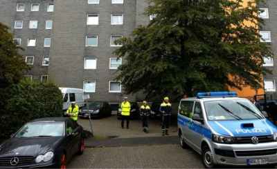 German police discover bodies of five children in a flat in Solingen