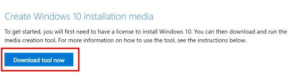 windows 10 1803 download media creation tool