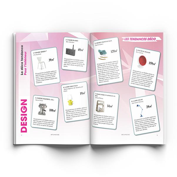 Creation de catalogue