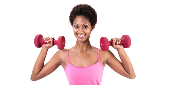women-weight-training