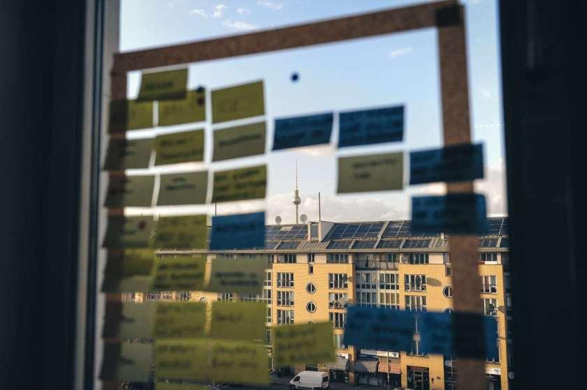 Flipchart-Alternative 5: Fenster