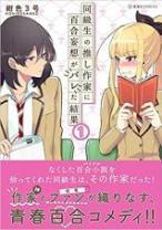 Komik Dokyuusei no Oshi Sakka ni Yuri Mousou ga Bareta Kekka