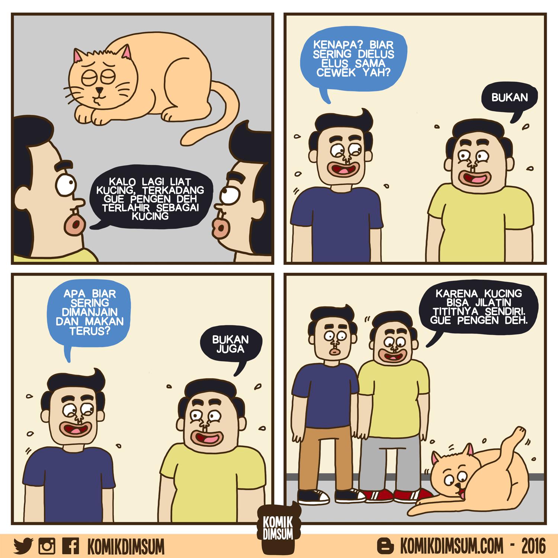 Ingin Jadi Kucing