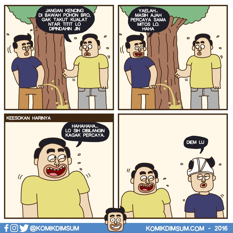 Kencing Sembarangan