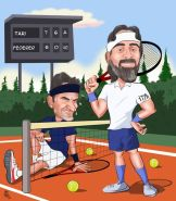 Federer-tenis-zaferi-karikaturu