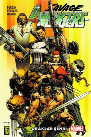 Savage Avengers Cilt 1 - Oraklar Şehri