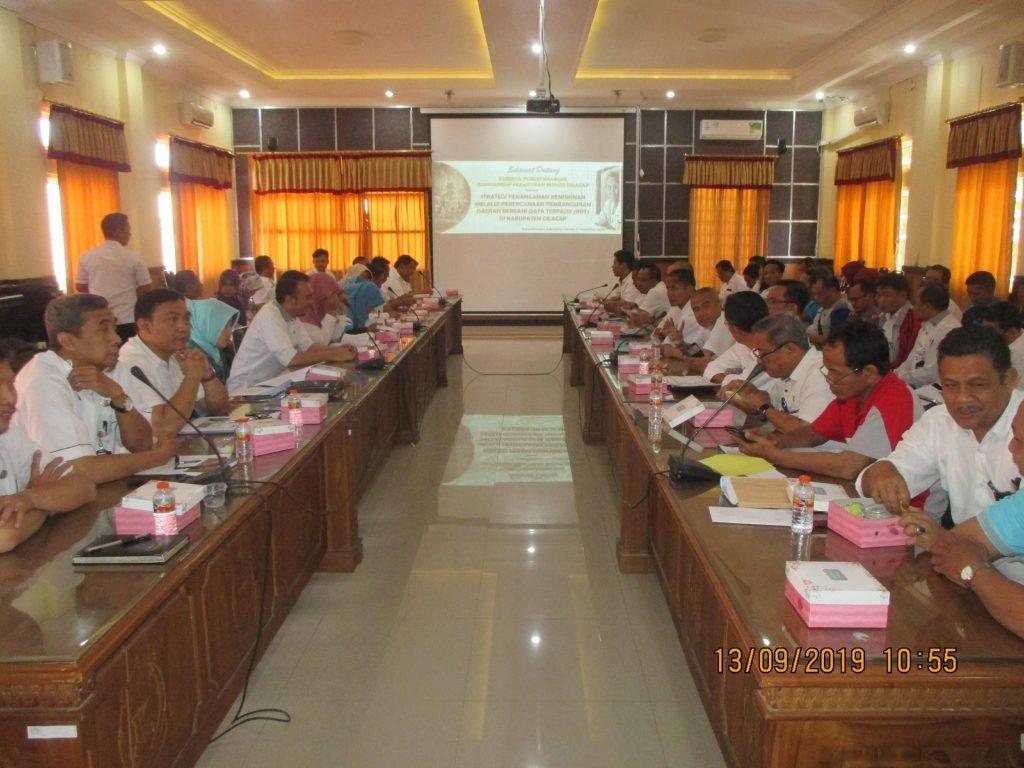 Diskominfo Mengikuti Public Hearing Rancangan Peraturan Bupati Cilacap