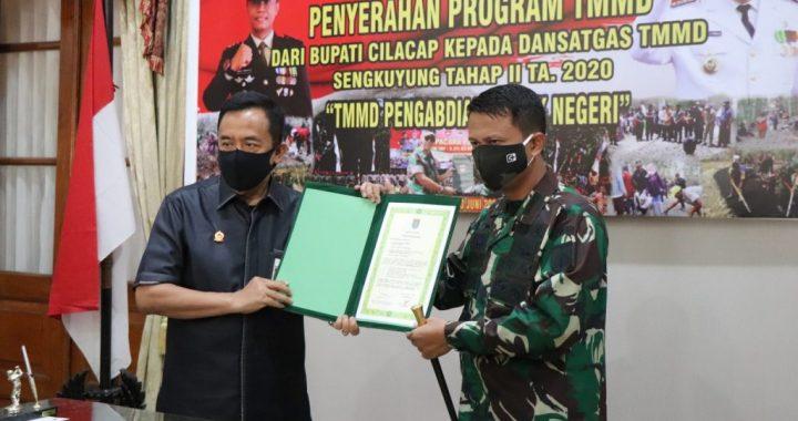 TMMD Sengkuyung Tahap II TA 2020 Desa Karanggedang Sidareja Dibuka Tanpa Upacara