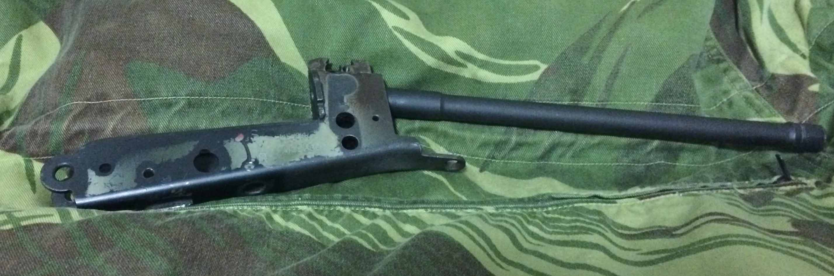 FN FAL (L1A1) Upper and Lower Receiver Blueprints