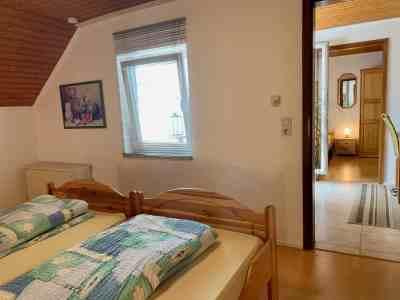 Schlafzimmer 2 - Blick Richtung Fenster