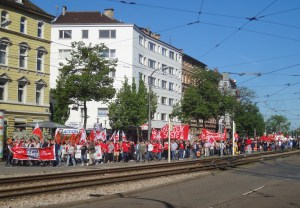 Demos, Kundgebungen, Straßenfest – Heraus zum 1. Mai!