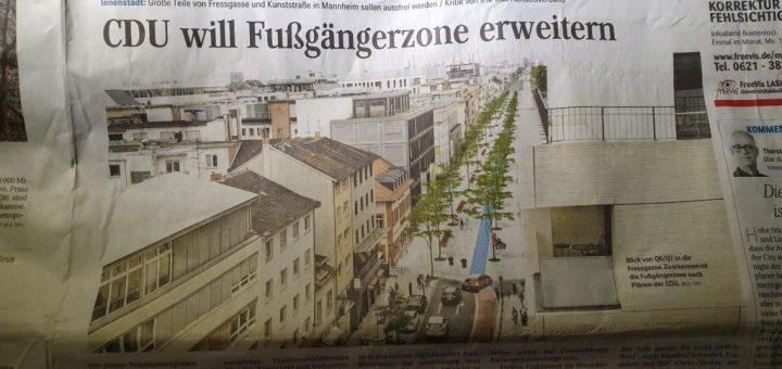 """Die neue Innenstadt"" – Die neue CDU? – Löbel-Hornung!"