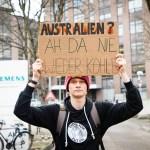"""""""Stop Adani"""": Fridays for Future am Siemens Werktor [mit Video]"""
