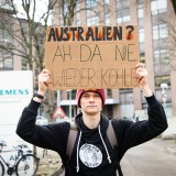"""Stop Adani"": Fridays for Future am Siemens Werktor [mit Video]"