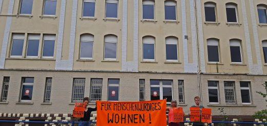 Für Menschenwürdiges Wohnen im Sicheren Hafen Mannheim – schließt alle Lager!