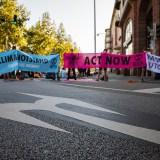 Räumung nach 2,5 Stunden: Blockade der Augustaanlage für ein autofreies Mannheim [mit Bildergalerie und Video]