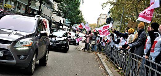 Verdi macht mobil im Tarifstreit: Auch in Rheinland-Pfalz legen tausende Beschäftigte im öffentlichen Dienst die Arbeit nieder (mit Bildergalerien)