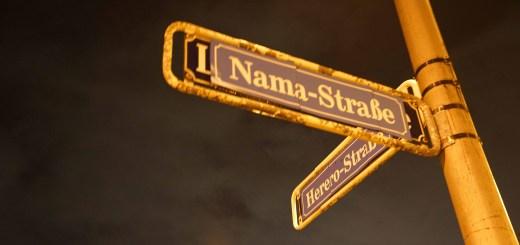"""Symbolische Straßenumbenennung in Rheinau-Süd: """"An Widerstand der Nama und Herero erinnern"""""""