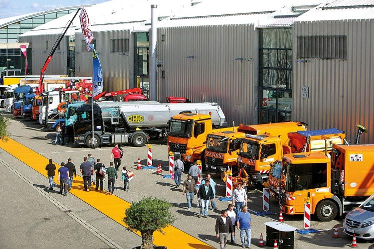 Kommunalfahrzeuge auf der NUFAM Karlsruhe 2017