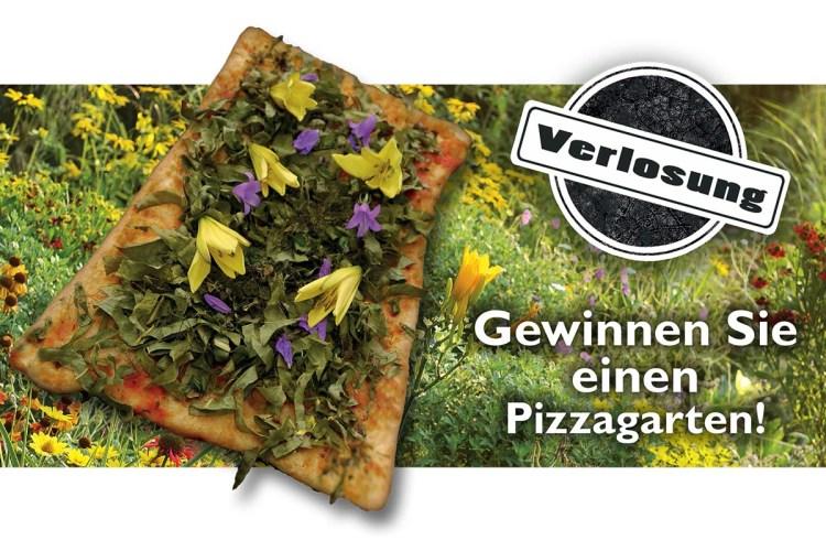 """KOMMUNALtopinform und """"durchgeblueht"""" verlosen drei Pizza-Gärten"""