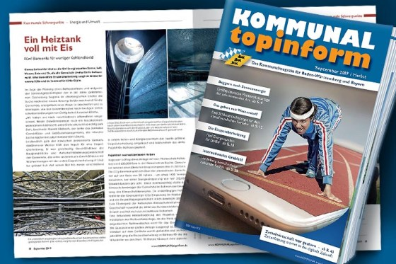 KOMMUNALtopinform Septemberausgabe