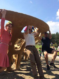 Rambøll med leken kunst i Verdensparken | Rambøll