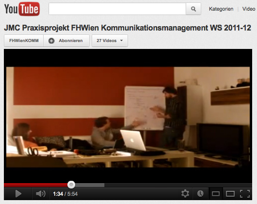 FHWien Kommunikationswirtschaft JMC Video
