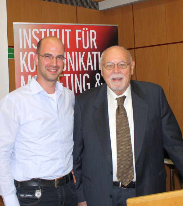 Don E. Schultz and Peter Dietrich, Vienna 2015