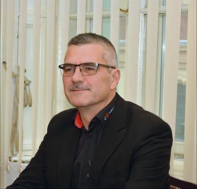 Allan Busk, formand for eF Aalborg