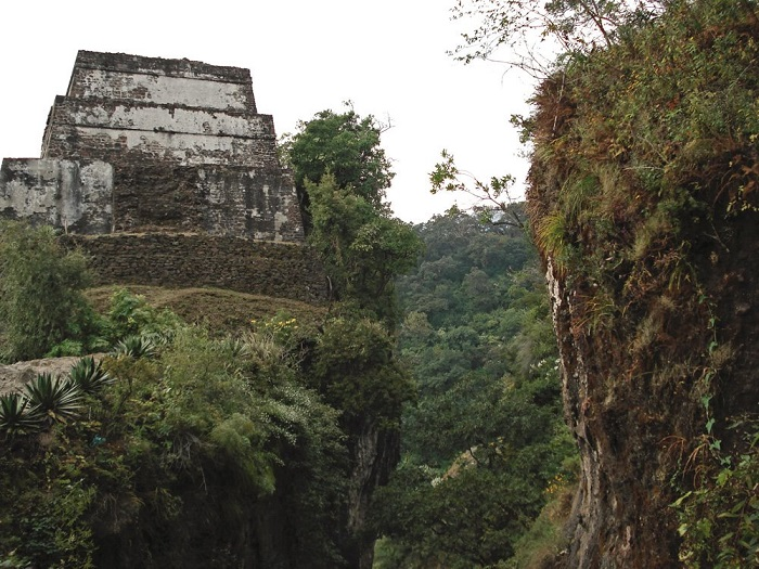 La pirámide del Cerro del Tepozteco