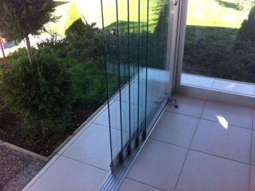 стеклянные двери SLIDING SLIM