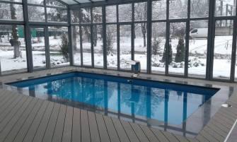 Зимний сад зимой - №7